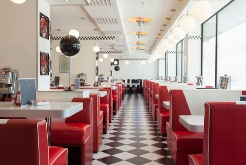American restaurant for sale
